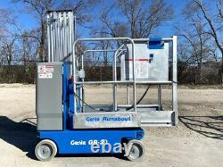 2012 Genie Gr-20 Runabout Manlift Vertical Lift Compact Driveable Awp Genie Lift