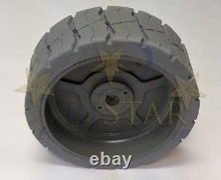 Genie 105454 Non-Marking Tire NEW with 6 mo Warranty. MATCHES OEM SPECS