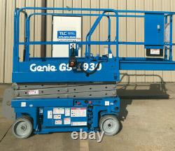 Genie GS-1930 SCISSOR LIFT BOOM LIFT Only 914 hours New Batteries and VCM